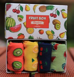 Unisex Fruits Socks Gift Box