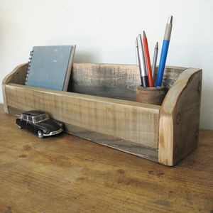 Wooden Desk Tidy - view all new