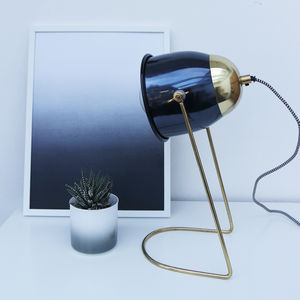 Hooded Table Lamp