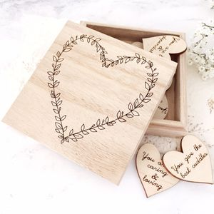 10 Things I Love About You Wooden Gift Box - gifts for him