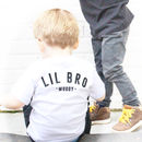 'Lil Bro' Personalised T Shirt