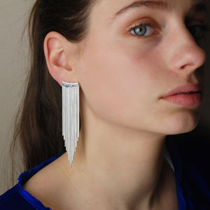 Cascade Chandelier Earrings - earrings