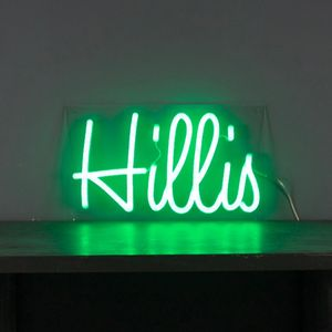 Personalised 'Your Own Name Or Word' LED Neon Light - wall lights