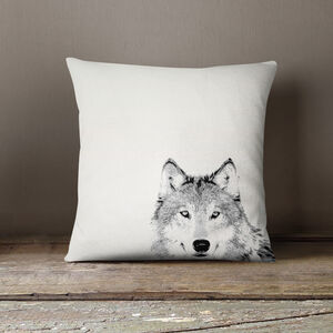 Wolf Scatter Cushion