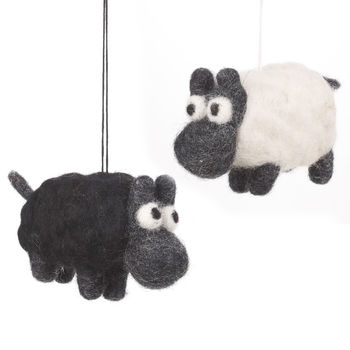 Handmade Felt Sheep