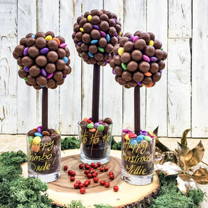 Malteser And Smarties Chocolate Tree - sweets