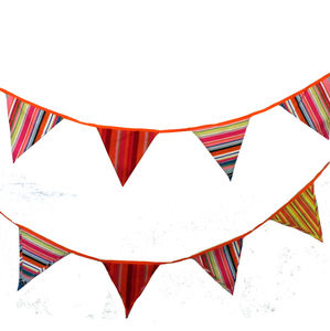Beach Hut Bunting - bunting & garlands