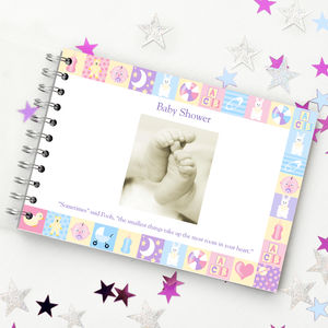 Baby Shower Guest Book - keepsakes