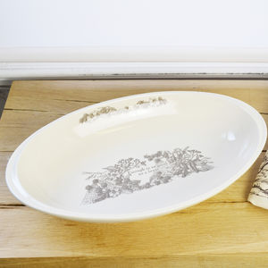 Enough Is As Good As A Feast Manciple Oval Oven Dish