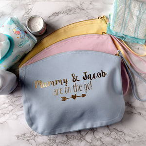 Personalised On The Go Baby Grab Bag