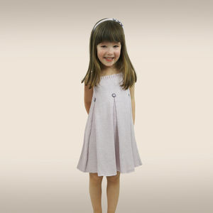 Handmade Bamboo Frilled Dress - clothing
