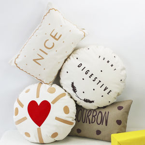 Biscuit Cushions - gifts for teenage girls