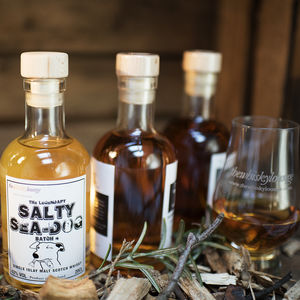 'Salty Sea Dog' Whisky Gift Box And Tasting Glasses