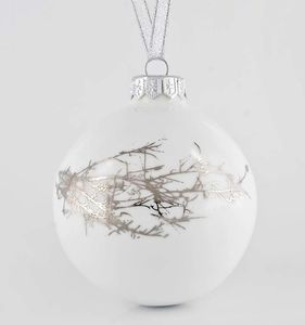 Christmas Bauble With Winter Twig