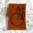 Personalised Cyclist Passport Holder