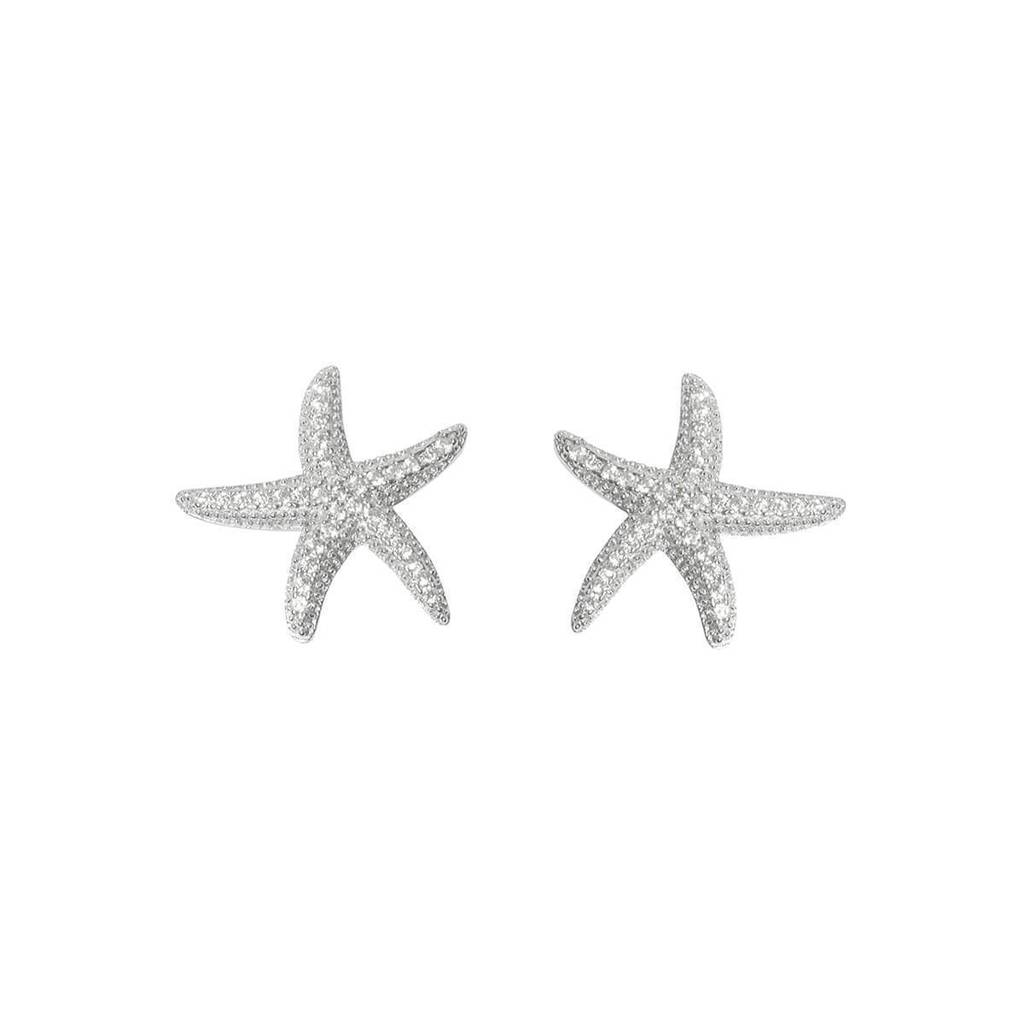 Starfish Earrings Studs