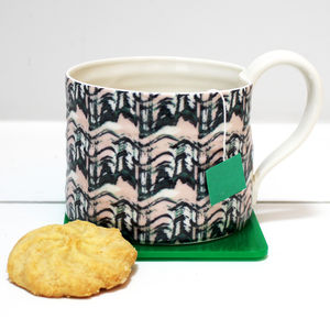 Hand Thrown Straight Sided Mug - tableware