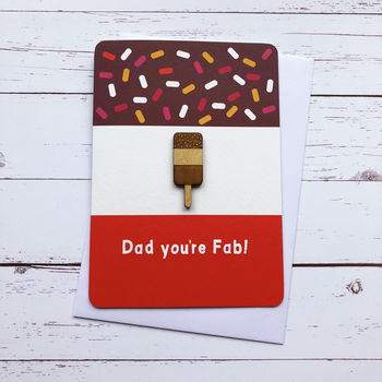 Dad You're Fab! Card