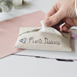 Mum's Tissue Holder - wedding gifts for mothers
