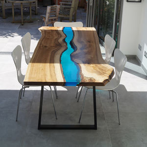Resin River Dining Table - furniture