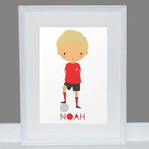 Personalised Football Player