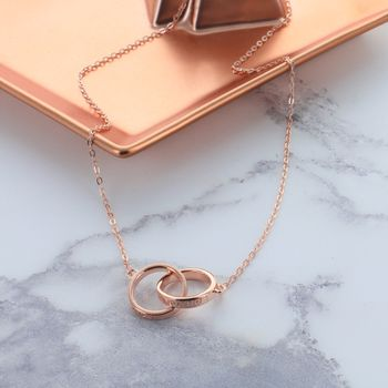Love Forever Infinity Link Necklace