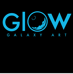Glow Galaxy Art Logo