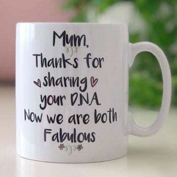 'Fabulous Dna' Mum Mug