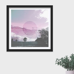 Limited Edition 'Paper Clouds' Photographic Print