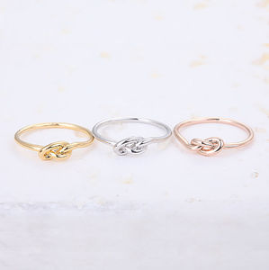 Infinity Knot Ring - jewellery