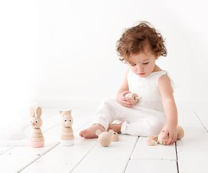 Personalised Wooden Stacking Toys - building blocks & stacking toys