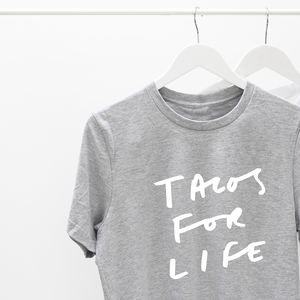 Tacos For Life T Shirt - tops & t-shirts