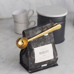 Coffee Scoop With Clip - luxury gifts for her