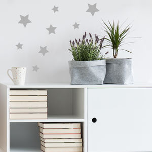 Set Of Mini Star Stickers - living room