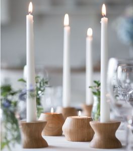 High Light/Low Light Reversible Candle Holders