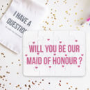 Personalised Will You Be Our Maid Of Honour Puzzle
