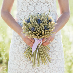 Lavender Wheat Sheaf - room decorations