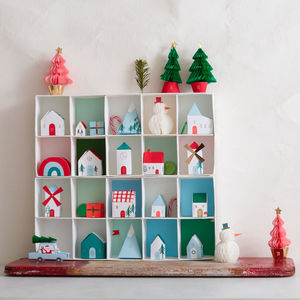 Christmas Village Advent Calendar - advent calendars