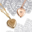 Vintage Heart Locket 9ct