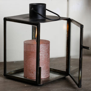 Miniature Personalised Industrial Cube Lantern - lights & lanterns