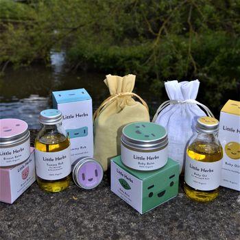 Hello Baby! Hello Mum! Organic Skincare By Little Herbs