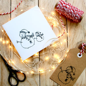 Snowman Clear Stamp