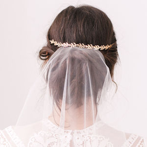 Leaf Hair Wedding Vine - bridal hairpieces