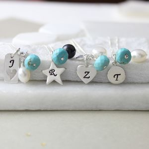 Personalised Birthstone Necklace - necklaces