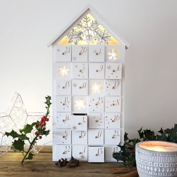 LED Snowflake Fill Your Own Advent House
