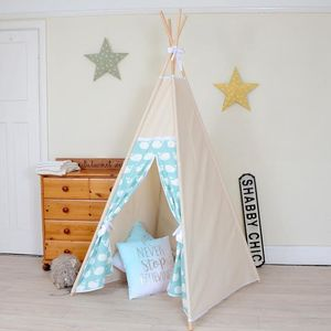 Green Whale Teepee Tent