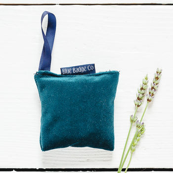 Velvet Lavender Bag In Jade Or Amethyst