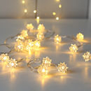 Spikey Berry Twinkling LED Light Garland