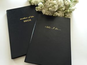 'I Do' Personalised Notebook For Brides