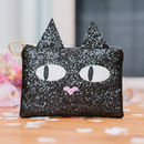 Cat Lovers Kitty Cat Clutch Bag Gift